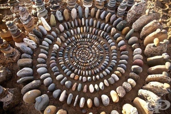 22 хипнотизиращи мандали от естествени природни елементи
