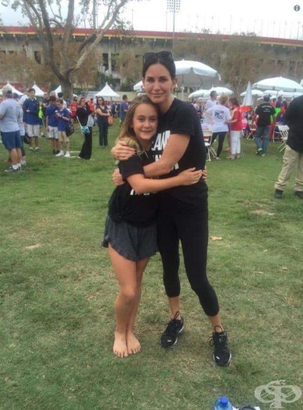 Кортни Кокс и нейната дъщеря Коко Аркет