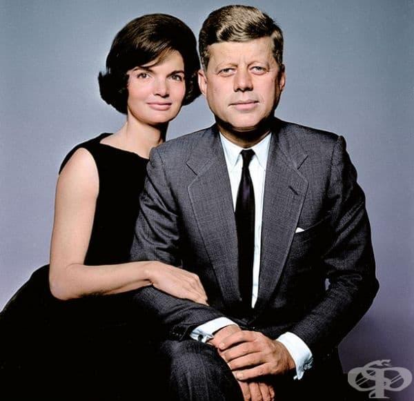 Джон и Жаклин Кенеди.