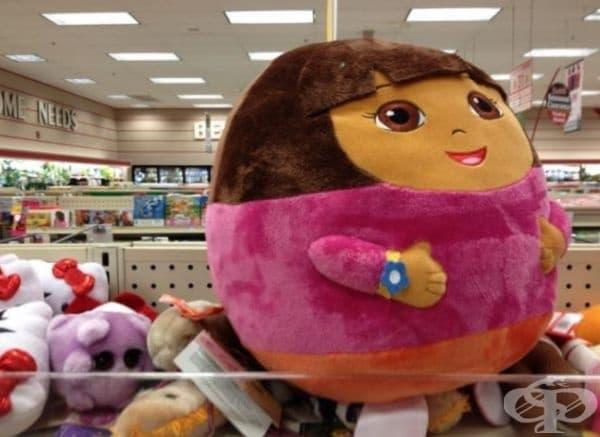 Очевидно Дора има нов облик.