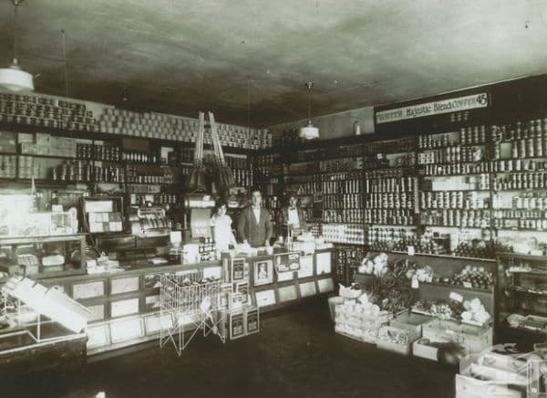 Магазин за хранителни стоки в Бремертън, Вашингтон.