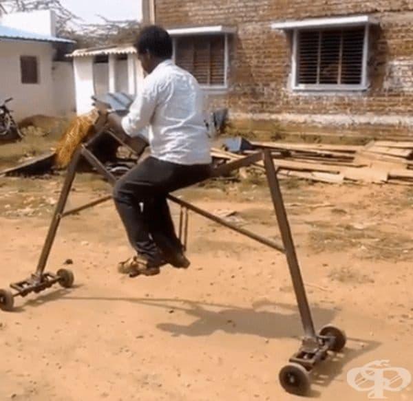 Бихте ли се возили на нещо такова?