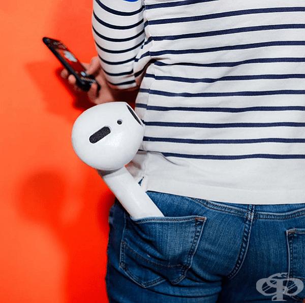 Такива огромни слушалки едва ли бихте могли да загубите.