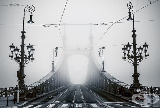 Мъглива Будапеща - 13 магични снимки от столицата на Унгария