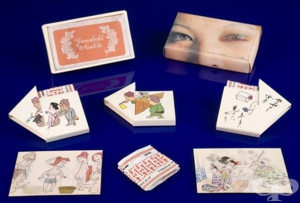 """Японски презервативи """"Yamabuki Wrinkle"""" от 1970 година"""