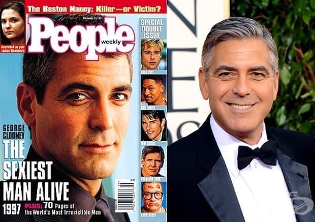 Джордж Клуни - 1997 и 2006 г.