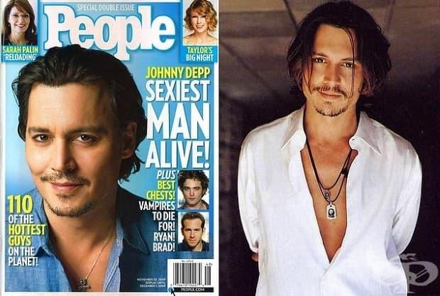 Джони Деп - 2003 г. и 2009 г.