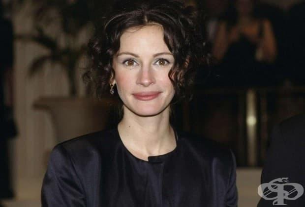Джулия Робъртс - през 2000, 2005, 2010 и 2017