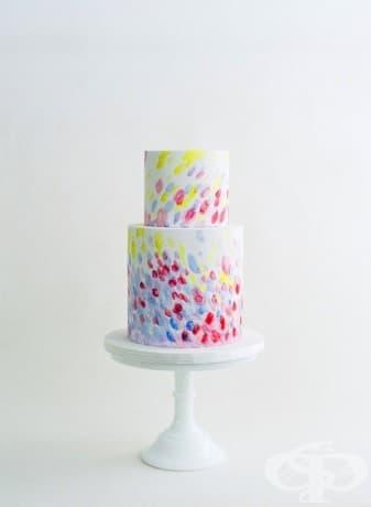 Тази акварелна торта: