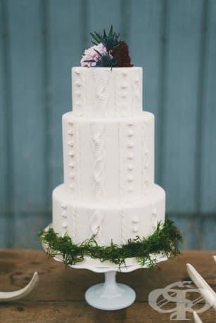 Тази торта, която напомня на най-удобния пуловер: