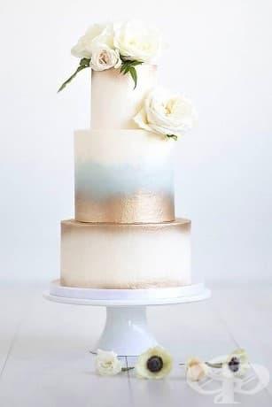 Абстрактно изкуство върху сватбена торта?