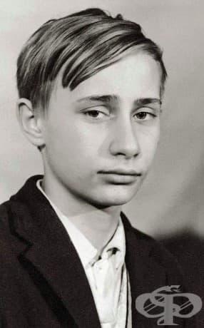 Владимир Путин като млад тинейджър, 1966 г.