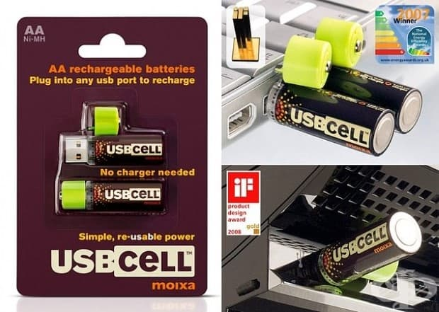 Батерии, които могат да се зареждат в USB порт