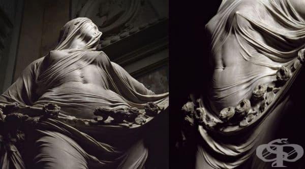 Антонио Корадини е венециански скулптор, който е живял през 18-ти век. Той е известен със своите уникални скултори от мрамор. Красивите каменни тела на жени, покрити с воал, продължават да изумяват зрителите и да оставят реалистично впечатление в тях.