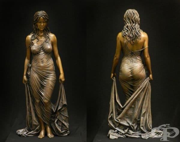 Американският скулптор Бенджамин Матю Виктор знае как да пресъздаде еротика чрез бронз. Неговите произведения на изкуството са грандиозни и изразяват всеки елемент с фин детайл.