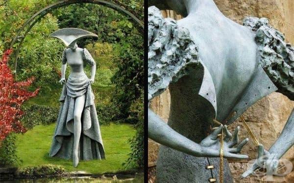 Филип Джаксън е шотландски скулптор, чиито произведения на изкуството разкриват по една очарователна история. Те са толкова изразителни и е трудно да се повярва, че са направени от камък, а не от плът и кръв.