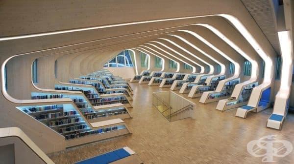 Библиотеката във Венесла, Норвегия.