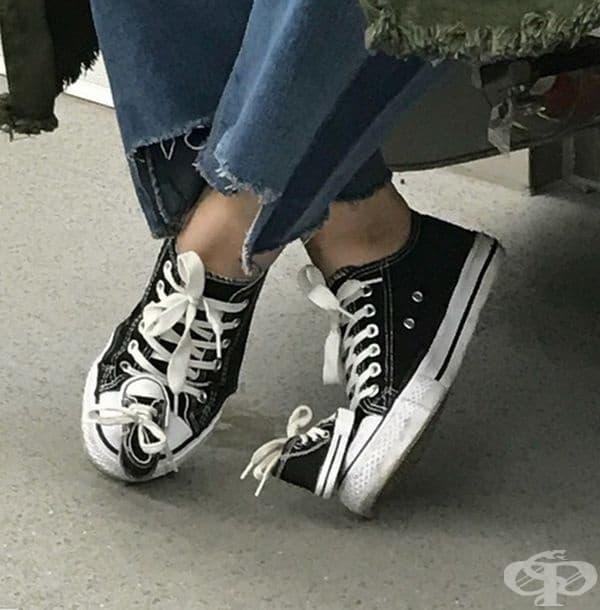 Резервни обувки.