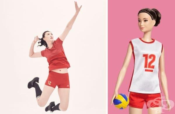 Хуй Руочи, волейболистка.
