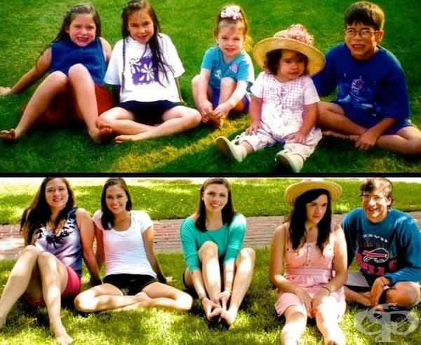 Най-доброто в старите семейни снимки е възможността да се повторят.