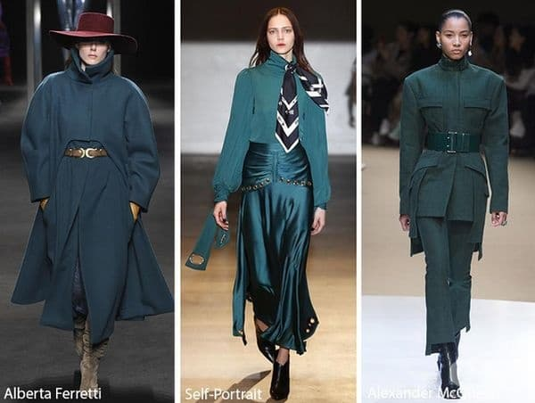 Quetzal Green е дълбок и тъмен цвят. Той също е един от цветовете, на които ще заложат много модни къщи за предстоящите студени дни.