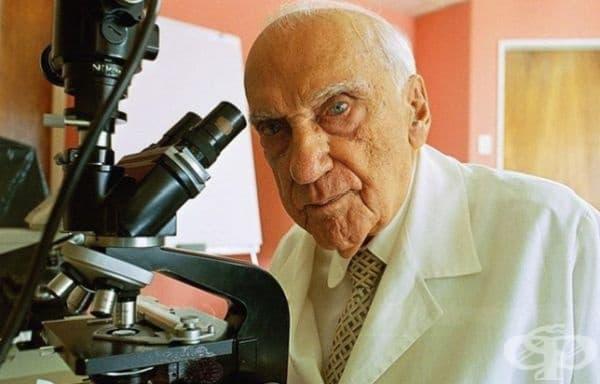 Джакинто Конвит, изобретил ваксина срещу проказа. На 100-годишна възраст той все още работи и търси лечение за рак.