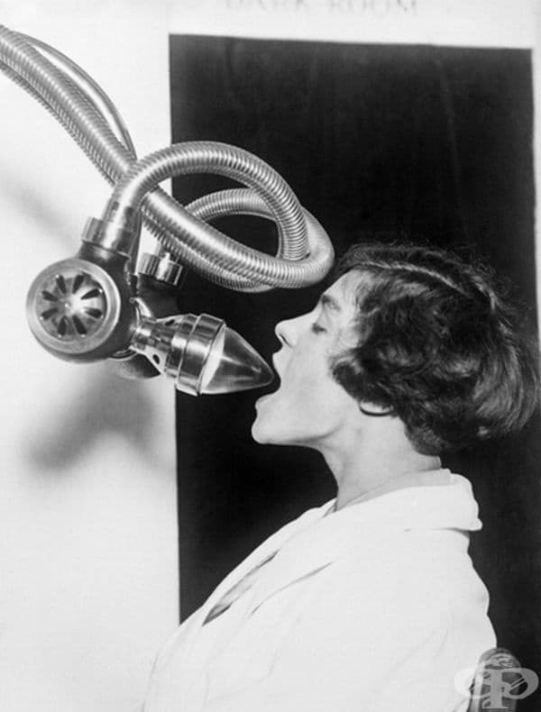 Устройство за рентгенография на устата, 1920 г.