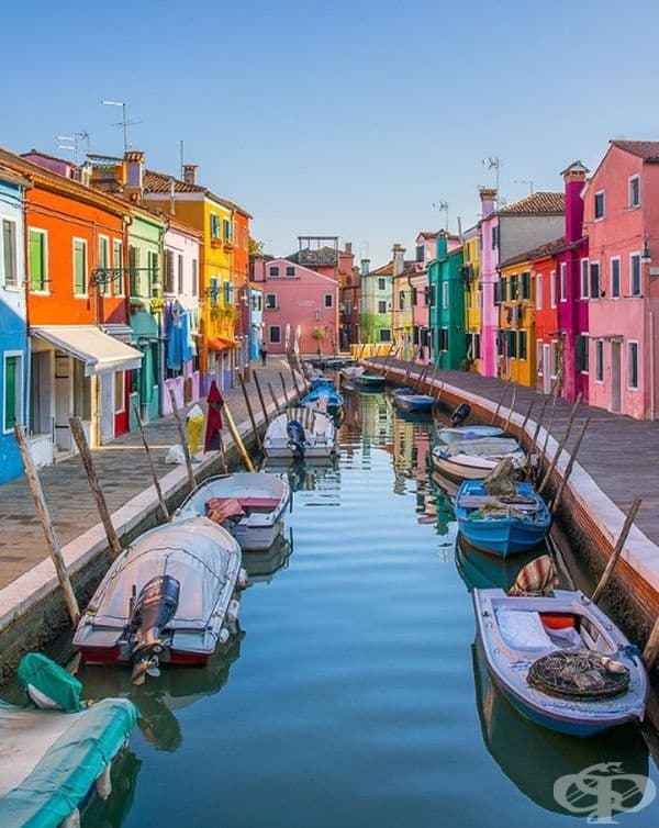 Бурано, Венеция, Италия.