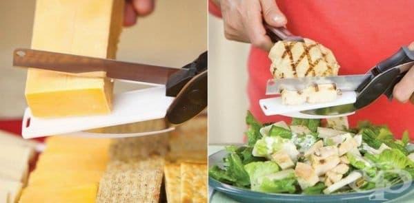 Многофункционален нож за храна.