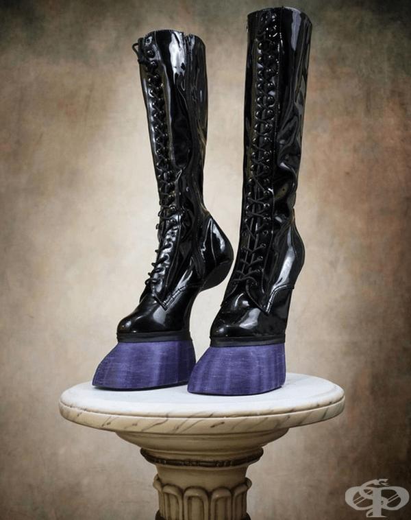 Според производителите човек има усещането за носене на обувки с токчета.