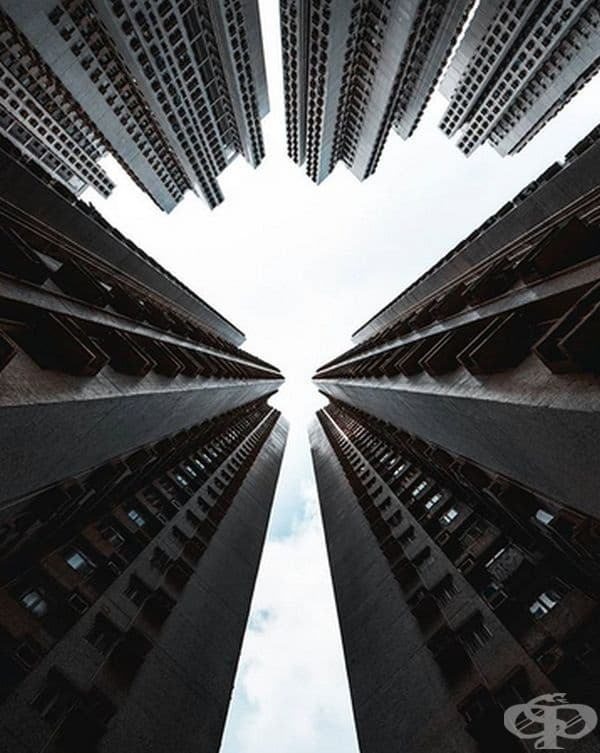Кой би си помислил, че сградите могат да бъдат направени по този начин?
