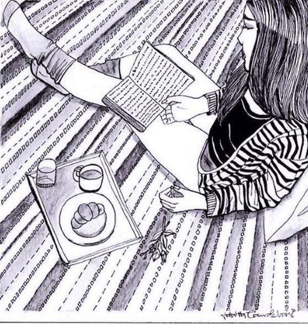Можете да четете любимата си книга в тишина.
