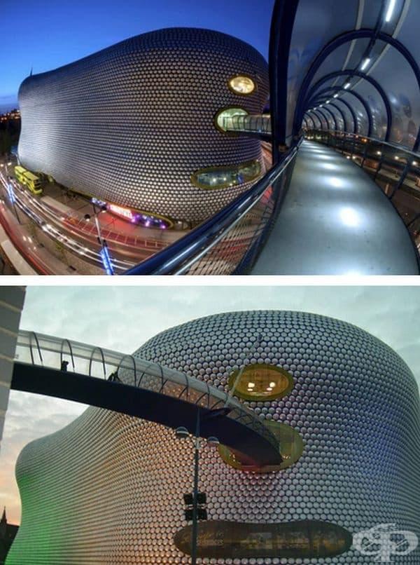 """Търговски център """"Bull Ring"""", в Бирмингам, Великобритания."""