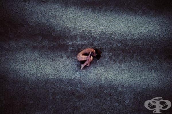 """Прераждане от Андреа Марондю - трета награда в категория """"Портрет"""", професионална група."""