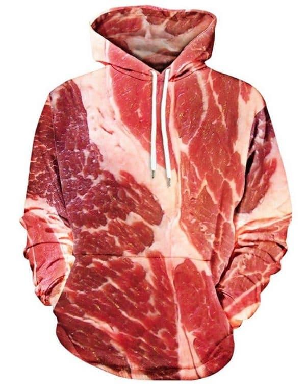 От естествен материал, месо.