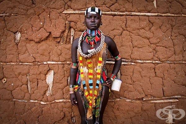 Булка от племето хамер, Етиопия