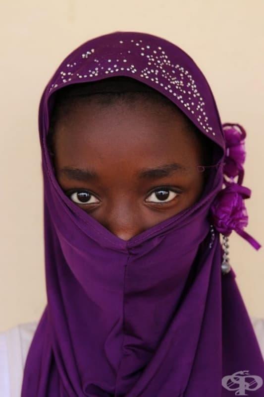 Момиче от Мавритания.