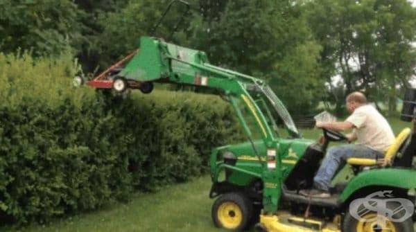 Опитните градинари вече не използват ножици.