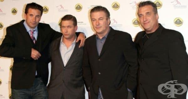 Братя Болдуин - Били, Стивън, Алек и Даниел.