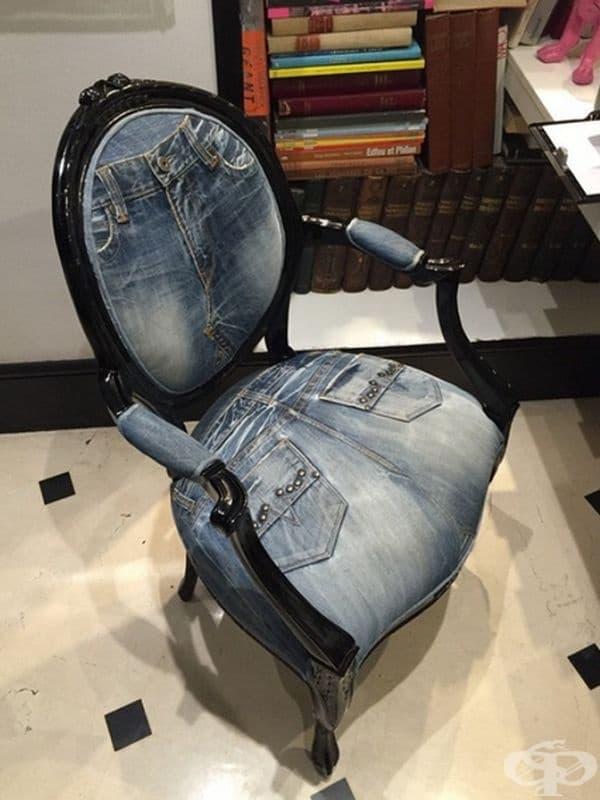 Друг вид стол от дънки.