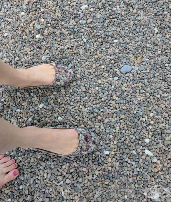 Обувки - невидимки.