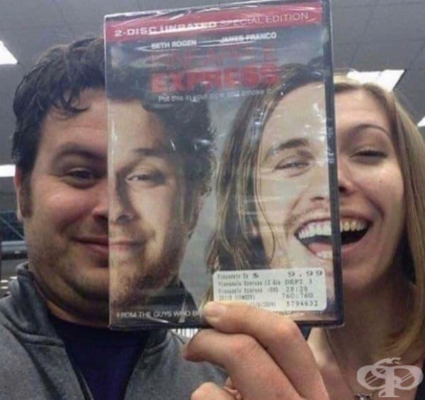 Дори закупуването на DVD може да бъде забавно.