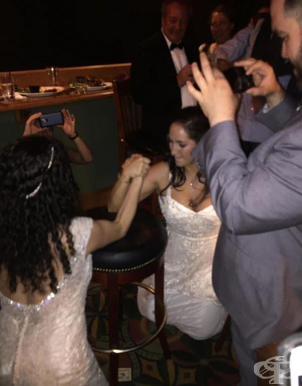 Две сватби в един хотел - резултатът!