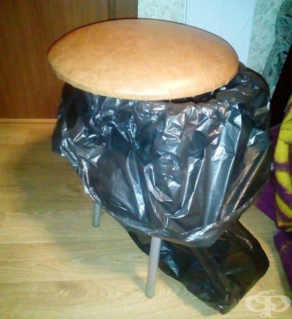 Многофункционален кош или стол?