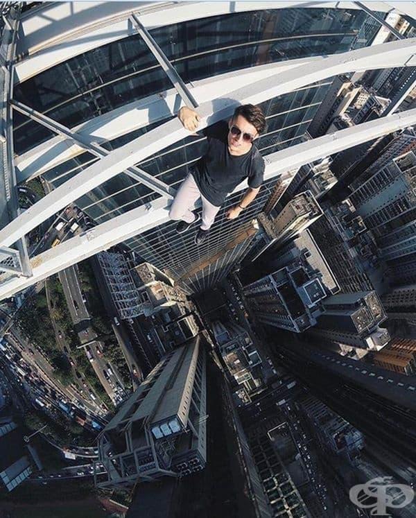 Хипнотизираща снимка от Хонг Конг.
