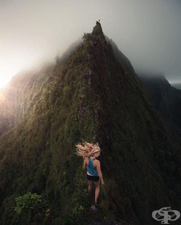 Малко адреналин и в Оаху, Хаваи.