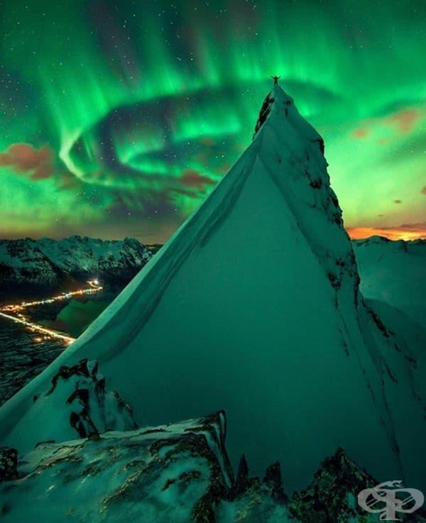 Снимка от Норвегия, изглежда като друг свят.