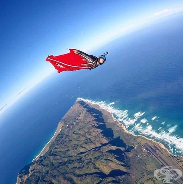 Полет над Хаваи.