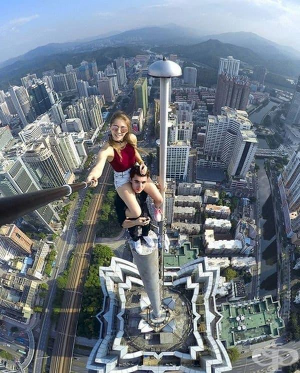 Снимка от Шънджън, провинция Гуандун, Китай.