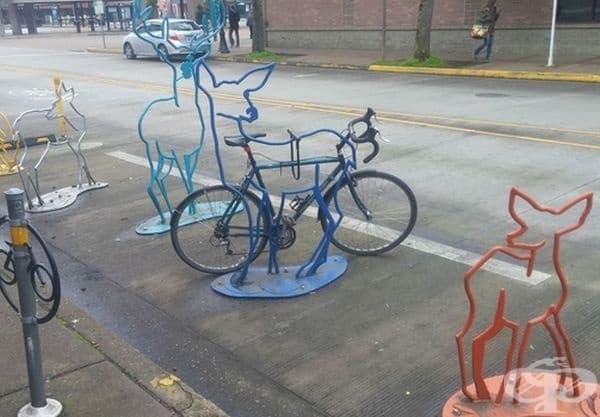 Горски животни, които ще пазят велосипеда ви.